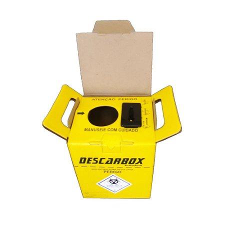 Coletor De Perfurcortantes 1,5 Litros Unidade - DESCARBOX