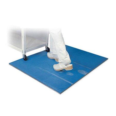 Tapete Antimicrobiano Multi-Camadas Azul - SALUBER