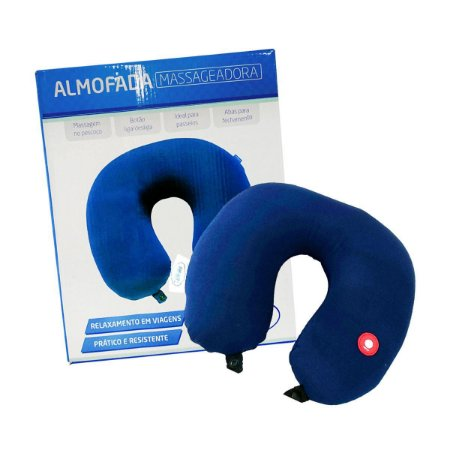Almofada Massageadora Para Pescoço - Supermedy