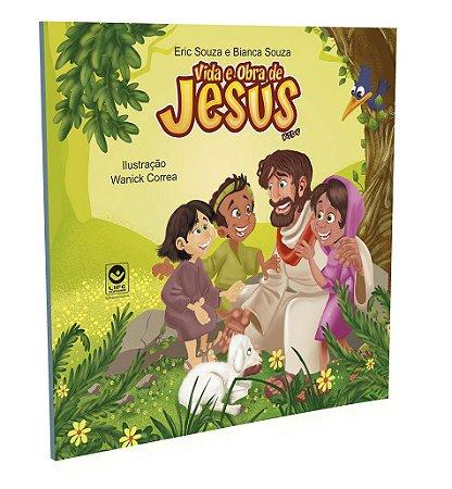 Livro Kids - Vida e Obra de Jesus