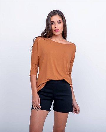 Blusa Camila Caramelo