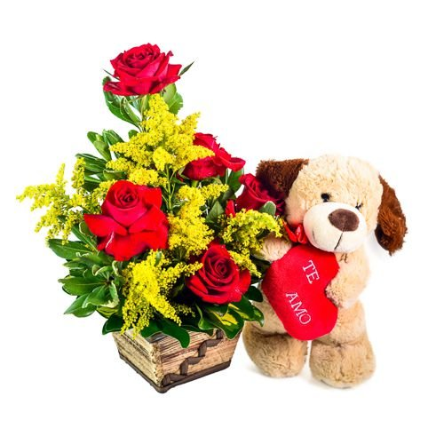 Amor com Rosas e Pelúcia