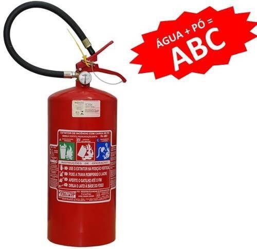Extintor Pó ABC 6KG