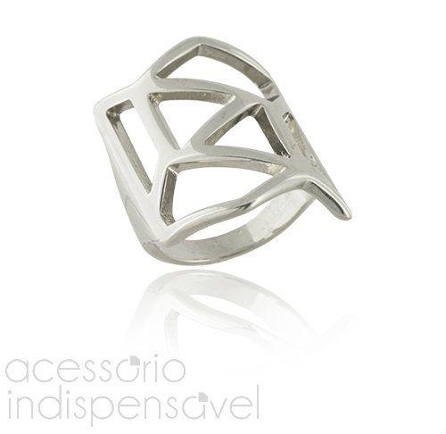 Anel Isadora Metal Prateado