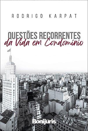Caixa com 50 livros - Questões recorrentes da vida em condomínio