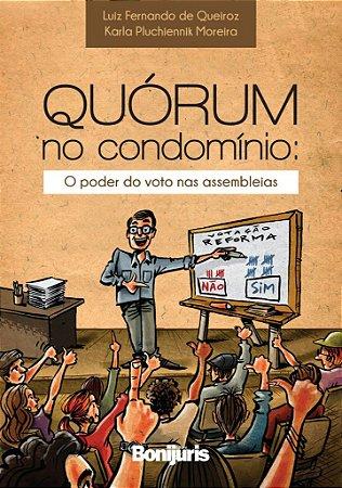 Quórum no condomínio: o poder do voto nas assembleias - Caixa com 60 livros