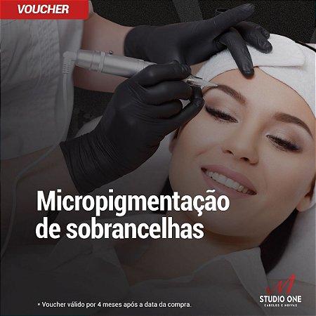 Micropigmentação de Sobranchelhas (Voucher)
