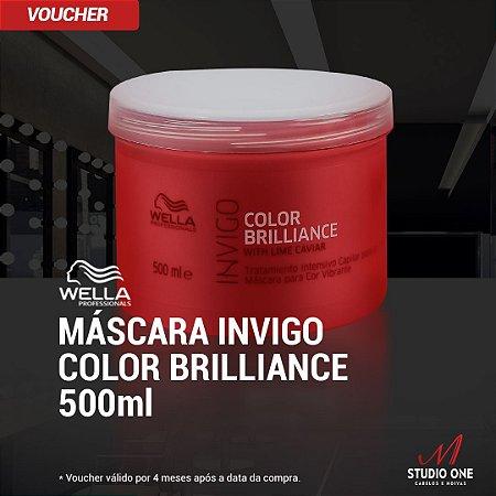 Mascara Wella Invigo Color Brilliance 500g
