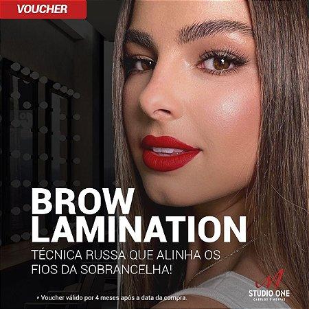 Brow Lamination Sobrancelha Técnica Russa