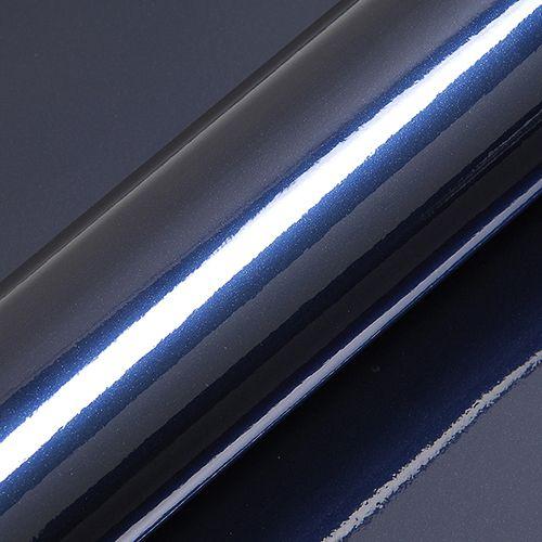 "Adesivo para Envelopamento Automotivo Alto Brilho Metálico Cor ""Midnight Blue Gloss"" Kit Carro Completo"