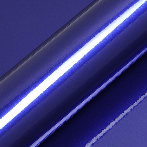 "Adesivo para Envelopamento Automotivo Alto Brilho Metálico Cor ""Neon Blue Gloss"" Carro Completo"
