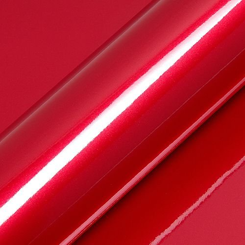 "Adesivo para Envelopamento Automotivo Alto Brilho Metálico Cor ""Redcurrent Red Gloss"" Kit Carro Completo"