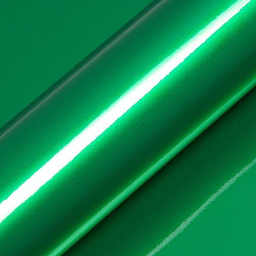 "Adesivo para Envelopamento Automotivo Alto Brilho Metálico Cor ""Boston Green Gloss"" Kit Carro Completo"