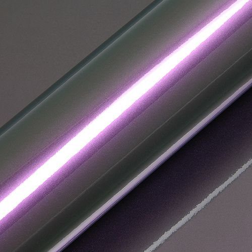 "Adesivo para Envelopamento Automotivo Alto Brilho Metálico Cor ""Scarab Green/Violet Gloss"" Kit Carro Completo"