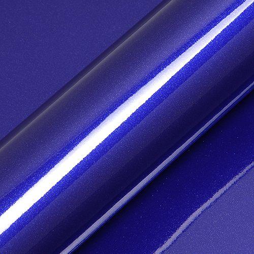 "Adesivo para Envelopamento Automotivo Alto Brilho Glitter Cor ""Triton Bleu Gloss"" Kit Carro Completo"