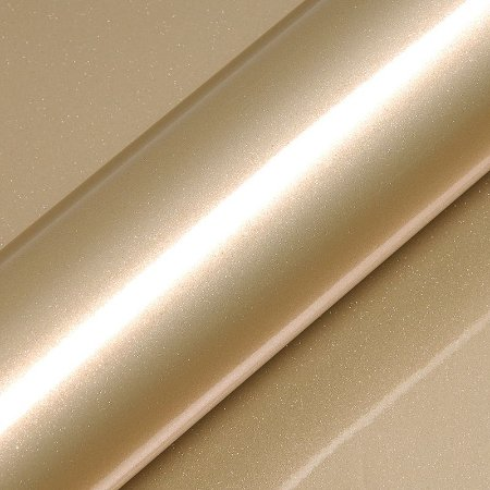 "Adesivo para Envelopamento Automotivo Alto Brilho Glitter Cor ""Zeus Gold Gloss"" Kit Carro Completo"