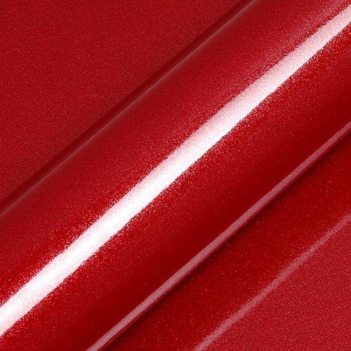 "Adesivo para Envelopamento Automotivo Alto Brilho Glitter Cor ""Garnet Red Gloss"" Kit Carro Completo"