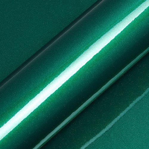 "Adesivo para Envelopamento Automotivo Alto Brilho Glitter Cor ""Artemis Green Gloss"" Kit Carro Completo"