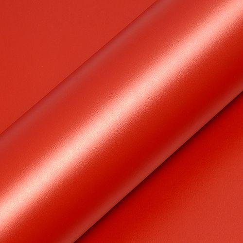 """Adesivo para Envelopamento Automotivo Fosco Metálico Cor """"Orange Papaye Mat"""" Carro Completo"""