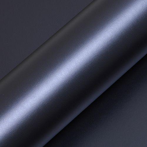 """Adesivo para Envelopamento Automotivo Fosco Cor """"Bleu de Minuit Mat"""" Carro Completo"""