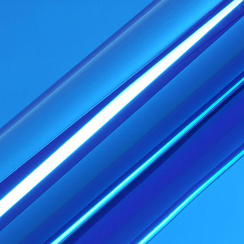 """Adesivo para Envelopamento Automotivo Super Cromado Cor """"Azul"""" Carro Completo"""