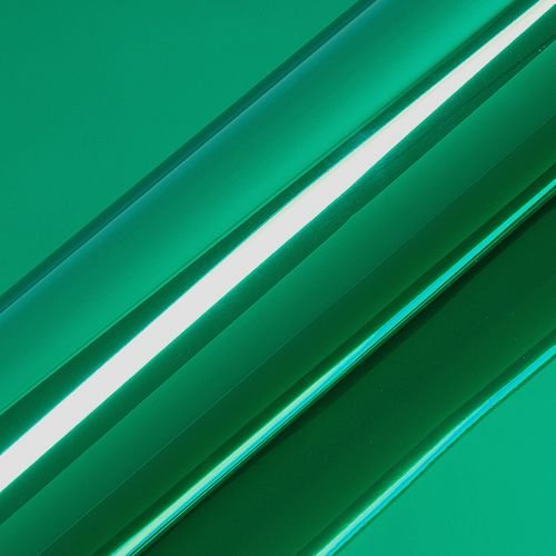 "Adesivo para Envelopamento Automotivo Super Cromado Cor ""Verde Floresta"" Carro Completo"