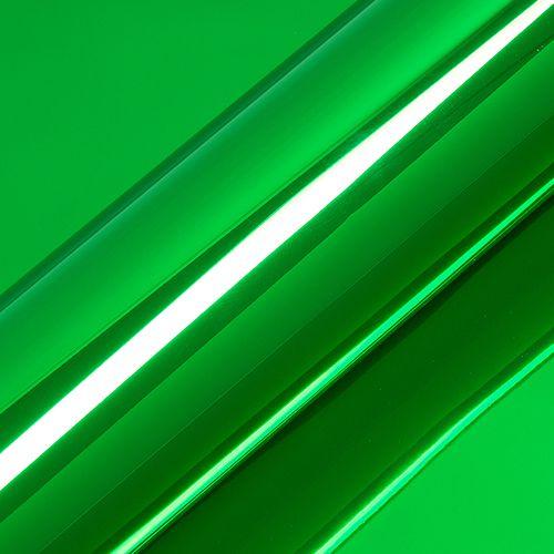"Adesivo para Envelopamento Automotivo Super Cromado Cor ""Verde Primavera"" Carro Completo"
