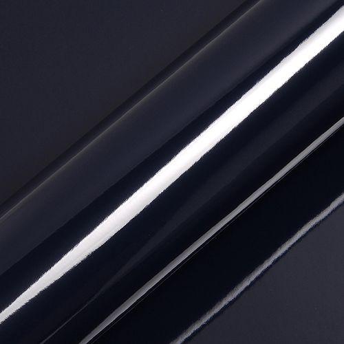 "Adesivo para Envelopamento Automotivo Alto Brilho Cor ""Dark Navy Blue"" Carro Completo"
