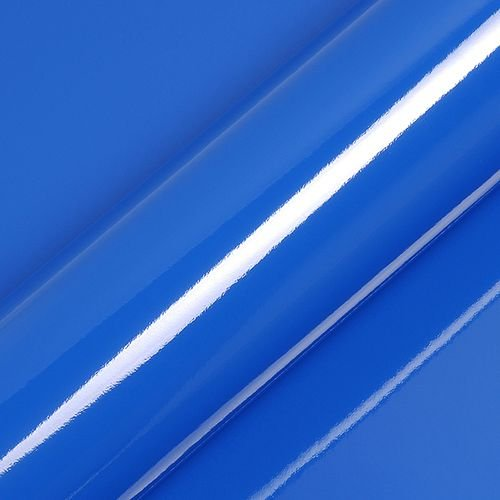 "Adesivo para Envelopamento Automotivo Alto Brilho Cor ""Intense Blue"" Carro Completo"