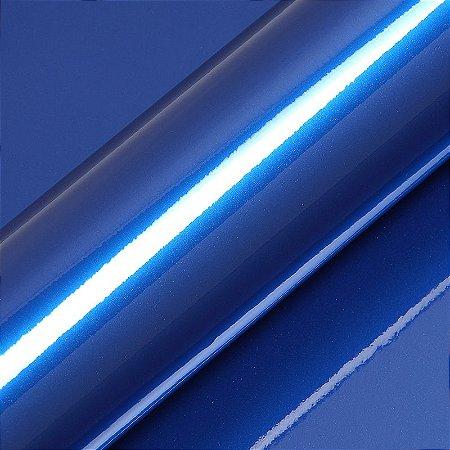 "Adesivo para Envelopamento Automotivo Alto Brilho Metálico Cor ""Pitch Blue Met Gloss"" Carro Completo"