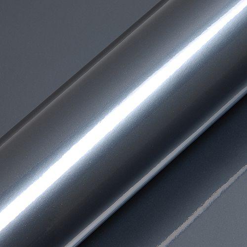 "Adesivo para Envelopamento Automotivo Alto Brilho Metálico Cor ""Payne's Grey Gloss"" Kit Carro Completo"