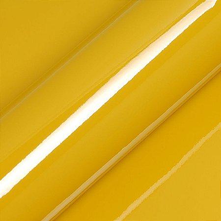 "Adesivo para Envelopamento Automotivo Alto Brilho Cor ""Honey Yellow Gloss"" Carro Completo"