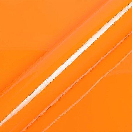 "Adesivo para Envelopamento Automotivo Alto Brilho Cor ""Orange Red Gloss"" Carro Completo"