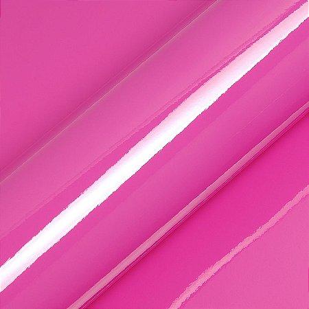 "Adesivo para Envelopamento Automotivo Alto Brilho Cor ""Candy Pink Gloss"" Carro Completo"