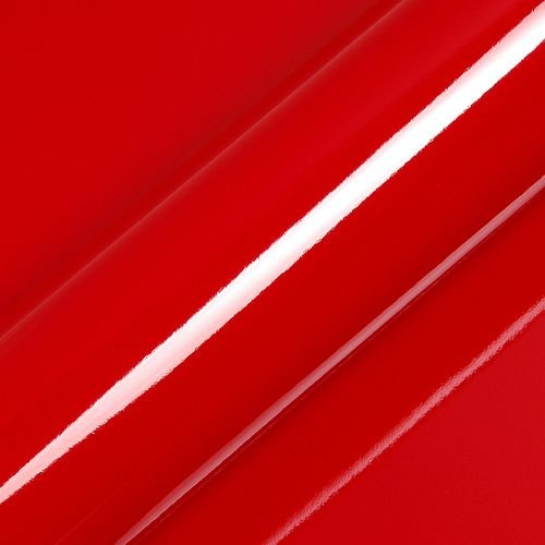"Adesivo para Envelopamento Automotivo Alto Brilho Cor ""Bright Cardinal Red Gloss"" Kit Carro Completo"