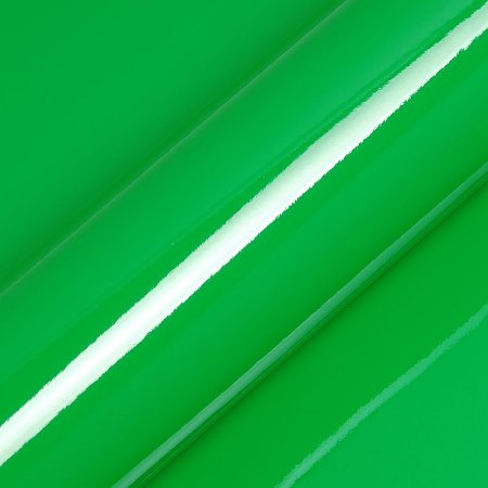 "Adesivo para Envelopamento Automotivo Alto Brilho Cor ""Apple Green Gloss"" Kit Carro Completo"