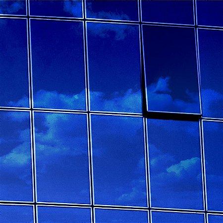"""Película para Vidro Comercial Espelhada de Alta Redução de Calor """"Specchio Blue Silver"""""""