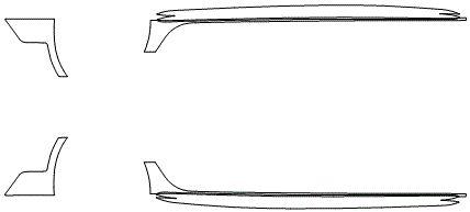 """Película ClearShield de Proteção de Pintura Transparente Super Brilho """"Kit Caixa de Ar/Soleiras"""" Audi RS6 Avant Ano 2011/2018"""