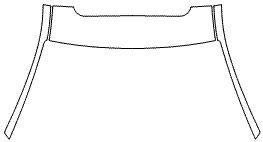 """Película ClearShield de Proteção de Pintura Transparente Super Brilho """"Kit Coluna Dianteira/Faixa Teto"""" Audi S7 Sportback Ano 2011/2018"""