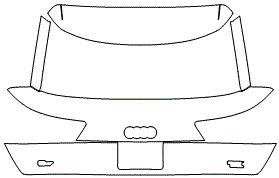 """Película ClearShield de Proteção de Pintura Transparente Super Brilho """"Porta Mala Completo"""" Audi Q7 Ano 2011/2018"""