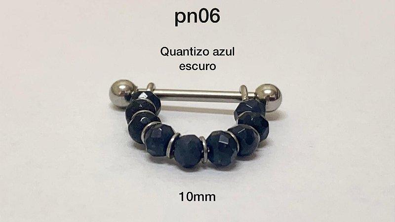 conch pedra azul escuro 10mm