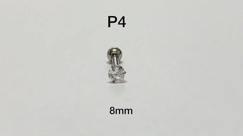ponto de luz folheado 8mm