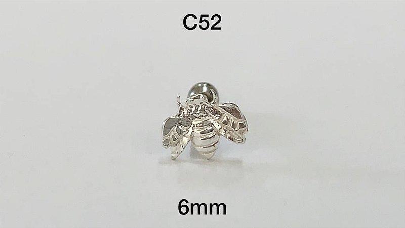 tragus em prata 6mm