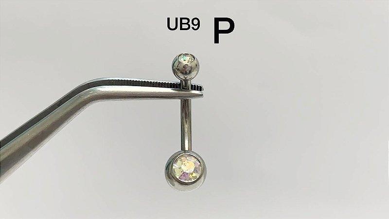 umbigo aço P furta cor