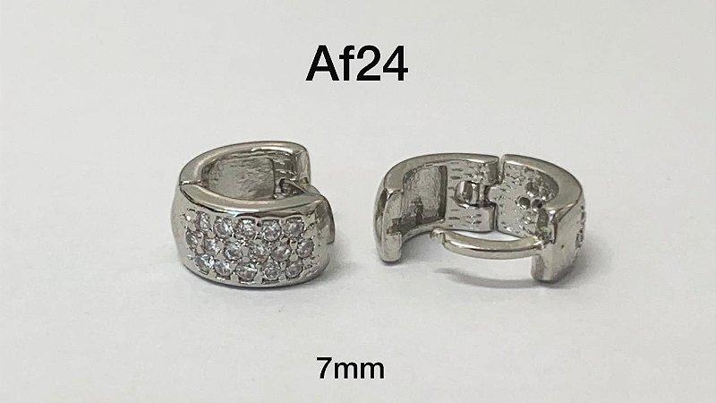 argola de clicker folheado 7mm