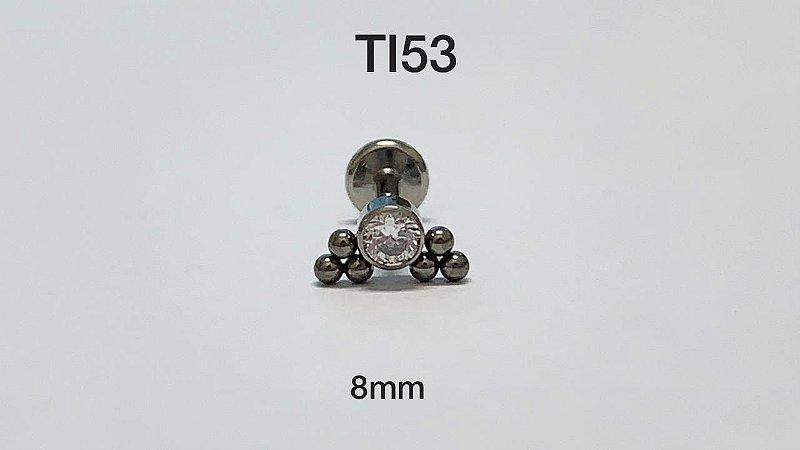 cluster titanio 8mm