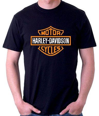 Camiseta Harley Davidson  - 100% Algodao