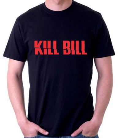 Camiseta Kill Bill Logo  - 100% Algodao