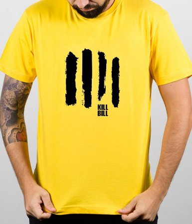 Camiseta Kill Bill Minimalista  - 100% Algodao