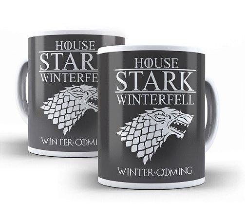 Caneca Game of Thrones House Stark